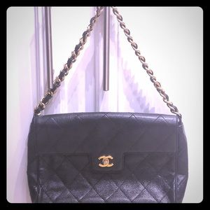 Stunning Authentic Vintage Chanel Bag